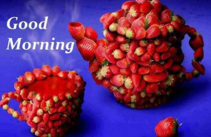Good Morning Wishes With Fruits Pictures Images