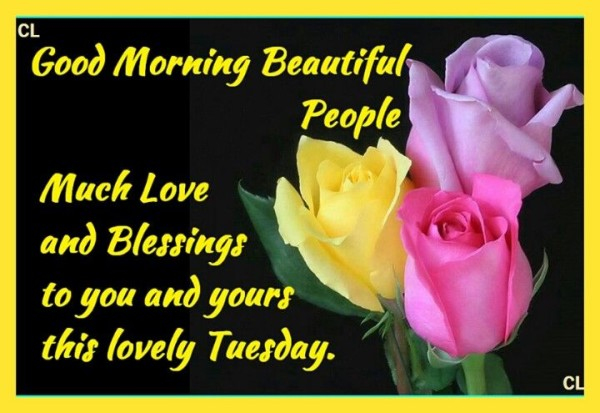 Much Love And Blessings - Good Morning-wg140662