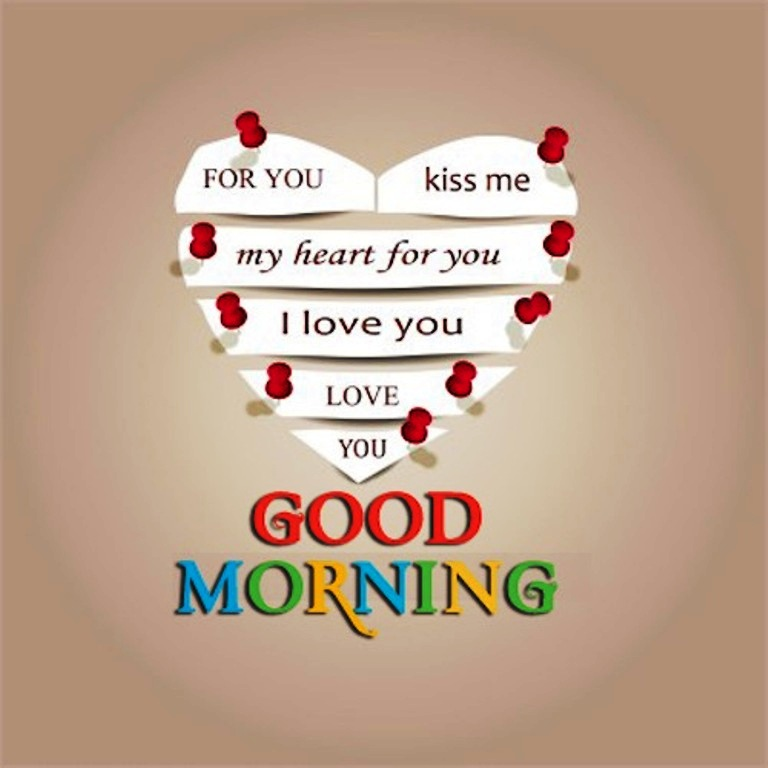 Good Morning Love Heart Images : Good morning wishes with heart pictures images page