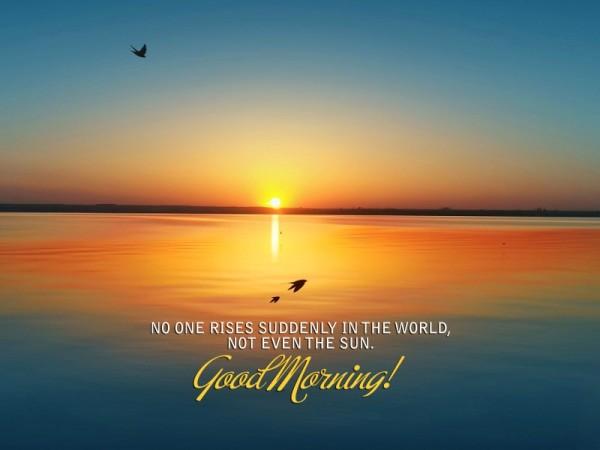 No One Rises - Good Morning-wg16657