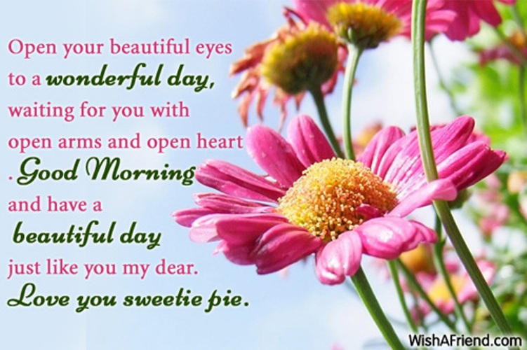 Good morning wishes with flowers pictures images page 20 open your beautiful eyes m4hsunfo