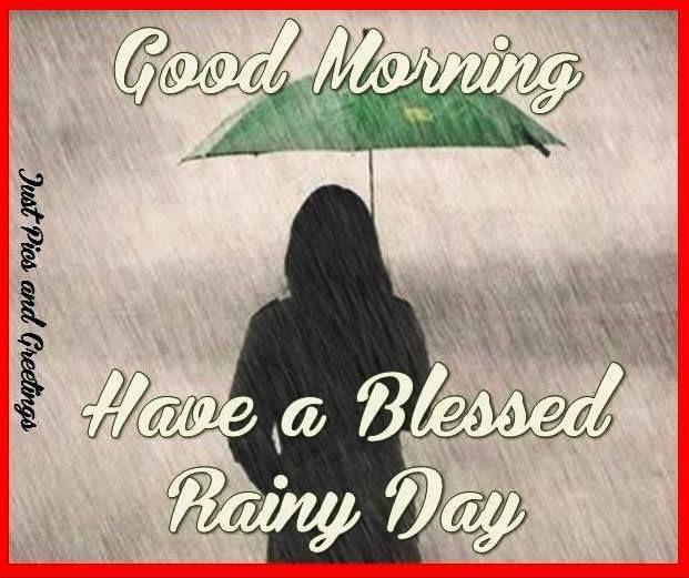 Rainy Day Good Morning Image In Bengali Good Morning Happy Friday