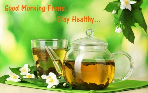 Stay Healthy - Good Morning-wg034471