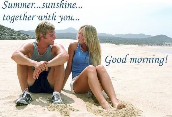 Summer Sunshine Together With You - Good Morning-wg0181082
