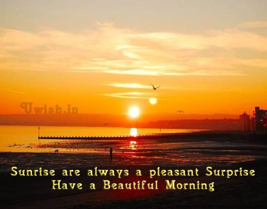 sunrise pictures captions - 550×431