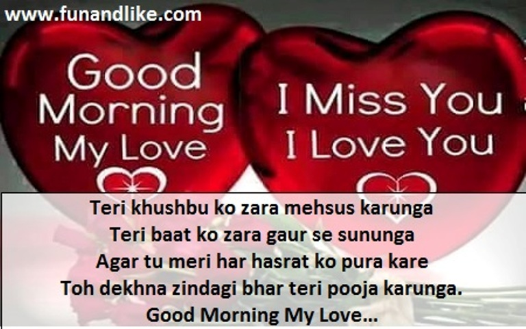 Good Morning Love Sms Hindi Image Wallpaper sportstle