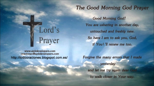 The Good Morning God Prayer-wg140860