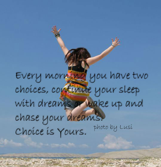 Wake Up And Chase Your Dreams-wg16774