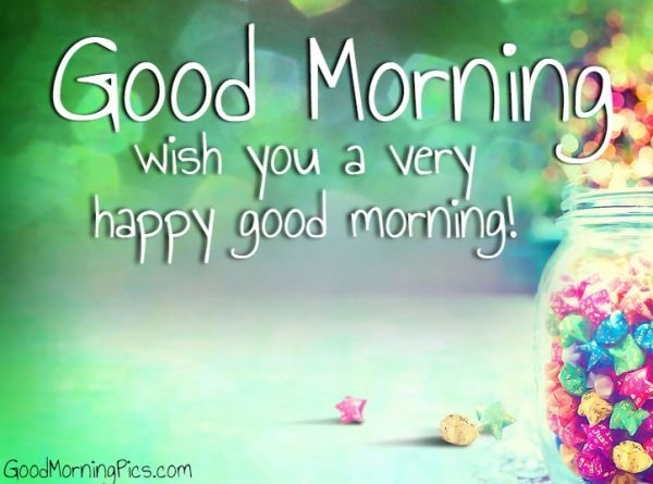 Wish You A Very Happy Good Morning-wg16796