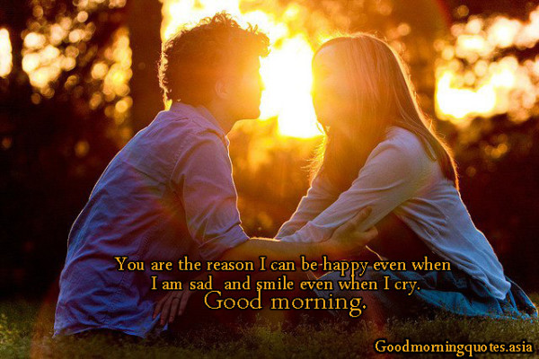 You Are The Reason - Good Morning-wg16831